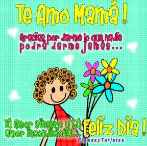 Cumpleaños Feliz A Ti Mamá Amada