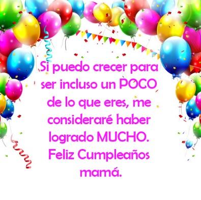 Cumpleaños Feliz A Ti Mamá Ejemplar