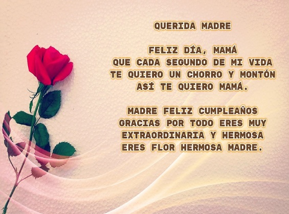 cumpleaños feliz a ti mamá trabajadora