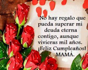 Cumpleaños Feliz A Ti Mamá Querida