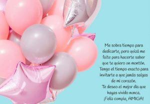 Cumpleaños Feliz A Ti Amiga Apreciada