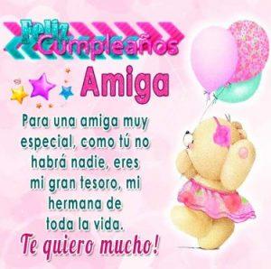 cumpleaños feliz a ti amiga maravillosa