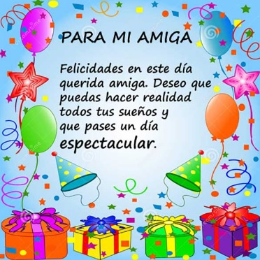 Cumpleaños Feliz A Ti Amiga Estimada