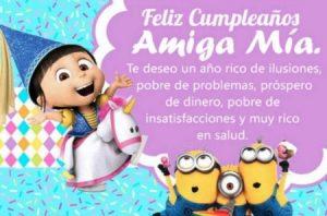Cumpleaños Feliz A Ti Amiga Mía