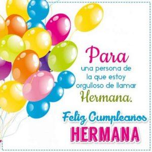 Cumpleaños Feliz A Ti Apreciada Hermana