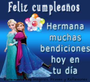 Cumpleaños Feliz A Ti Hermosa Hermana