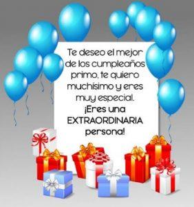 Cumpleaños Feliz A Ti Primo Especial