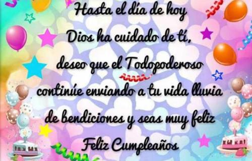 Cumpleaños Feliz A Ti Primo Querido