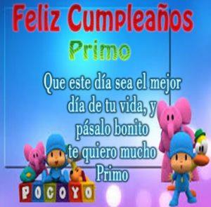 Cumpleaños Feliz A Ti Primo Tierno