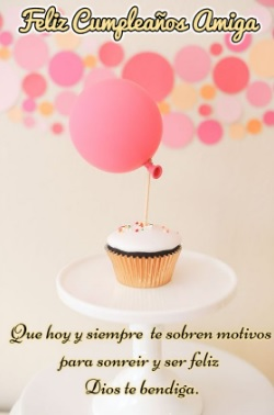 Cumpleaños Feliz A Ti Querida Amiga