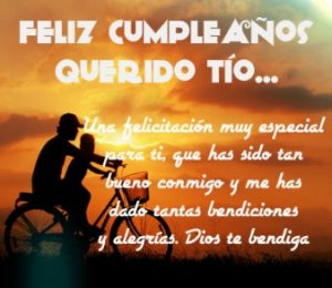 Cumpleaños Feliz A Ti Tío Admirable