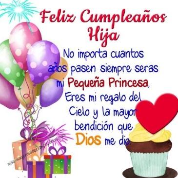 Cumpleaños Feliz A ti Hija Tierna