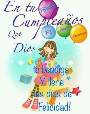 Cumpleaños Feliz A ti Mi Hermosa Hija
