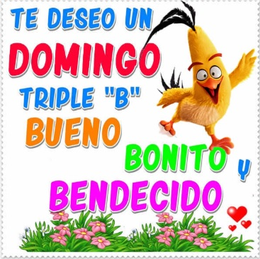 Feliz Domingo Triple B