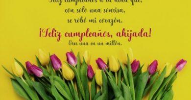 Cumpleaños Feliz A Ti Ahijada Bondadosa