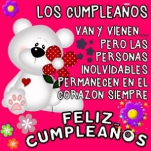 Cumpleaños Feliz A Ti Cariño