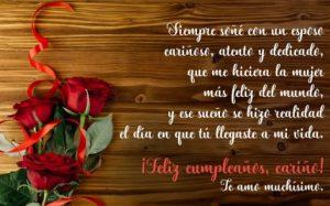 Cumpleaños Feliz A Ti Esposo Cariñoso