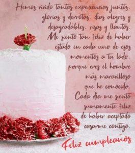 Cumpleaños Feliz A Ti Esposo Grandioso