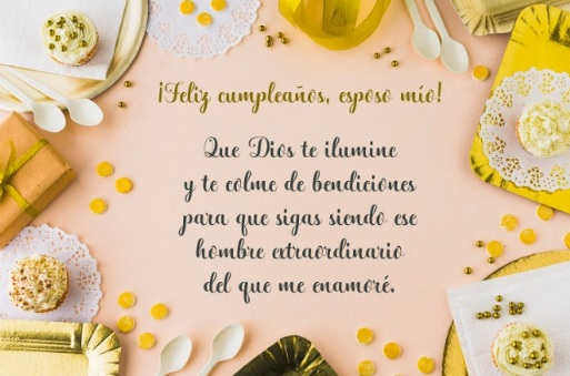 Cumpleaños Feliz A Ti Esposo Maravilloso