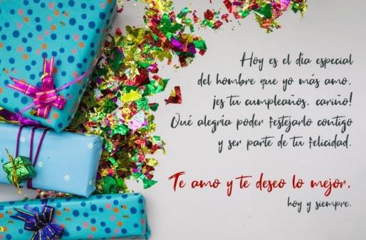 Cumpleaños Feliz A Ti Esposo Querido