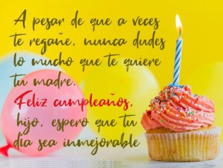 Cumpleaños Feliz A Ti Hijo Apreciado