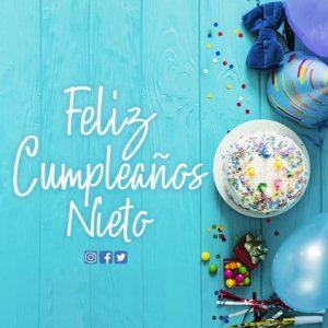 Cumpleaños Feliz A Ti Nieto Ocurrente