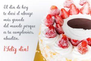 Cumpleaños Feliz A ti Abuelita Bella