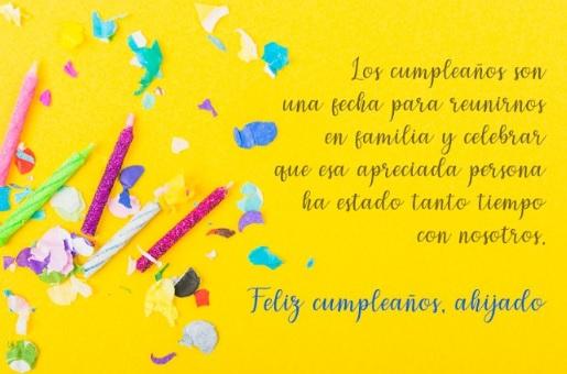 Cumpleaños feliz A Ti Ahijado Apreciado