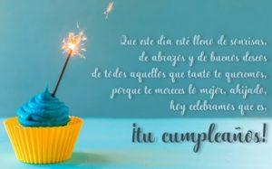 Cumpleaños feliz A Ti Ahijado Estimado