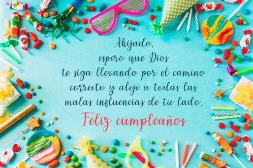 Cumpleaños feliz A Ti Ahijado Exitoso