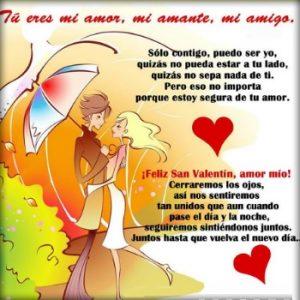 Feliz día del Amor Corazón