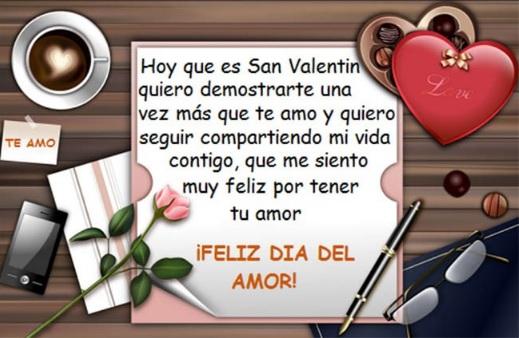 Feliz día del Amor Mi Amor