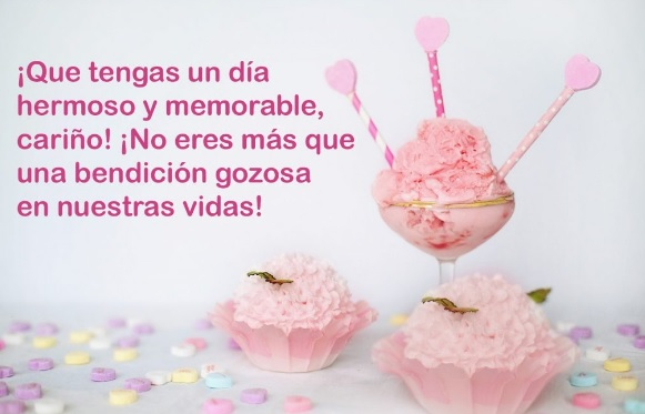 Cumpleaños Feliz A Ti Hija Adorada