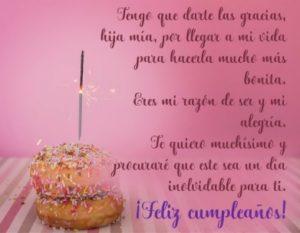 Cumpleaños Feliz A Ti Hija Maravillosa