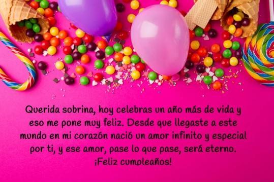 Cumpleaños Feliz A Ti Sobrina Apreciada