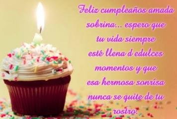 Cumpleaños Feliz A Ti Sobrina Hermosa