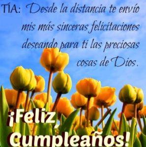 Cumpleaños Feliz A ti Tía Querida