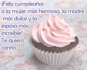 Cumpleaños Feliz A ti hermosa Esposa
