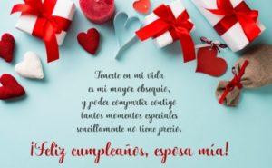 Cumpleaños Feliz A ti mi amor