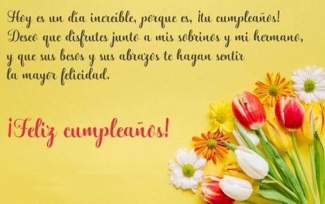 Cumpleaños feliz A ti Cuñada Maravillosa