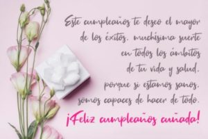 Cumpleaños feliz A ti Cuñada Trabajadora