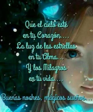 Buenas noches mágicos sueños