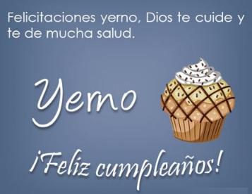Cumpleaños Feliz A Ti Estimado Yerno