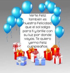 Cumpleaños Feliz A Ti grandioso Yerno
