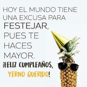 Cumpleaños Feliz A Ti yerno alegre