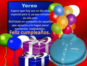 Cumpleaños Feliz A Ti yerno exitoso