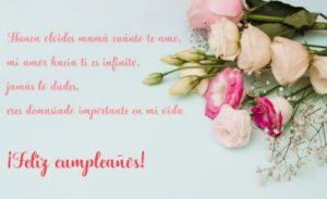 Cumpleaños Feliz A ti Mamá Adorada