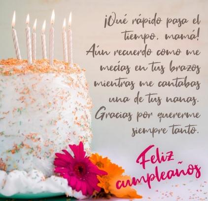 Cumpleaños Feliz A ti Mamá Cariñosa