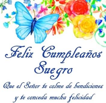 Cumpleaños feliz a ti suegro Admirable