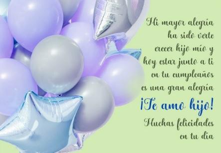Las Más Bellas Frases de Feliz Cumpleaños para Un Hijo modesto